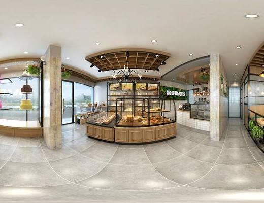 现代面包店, 甜品店