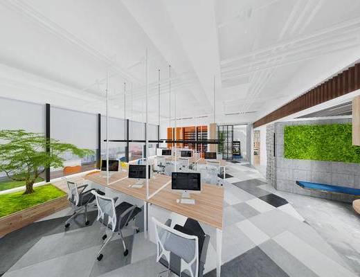 现代办公室, 办公室