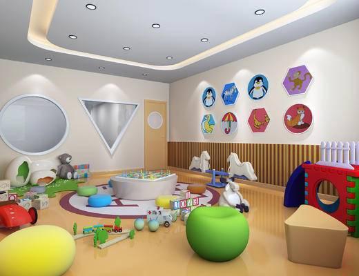 现代儿童活动室, 幼儿园